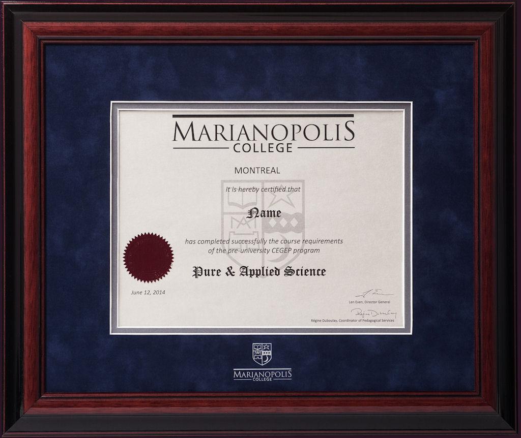 Marianopolis College Alumni Order
